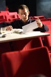 [Franck Grognet, directeur du Théâtre de la Platte]