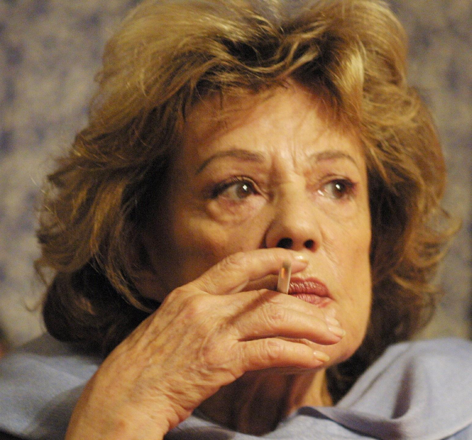 Jeanne Moreau, metteur en scène au Théâtre des Célestins