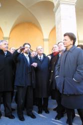 [Inauguration officielle des Subsistances de Lyon]