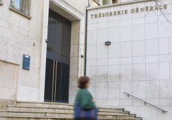 [La Trésorerie générale du Rhône et l'Hôtel des finances, rue de la Charité, à Lyon]