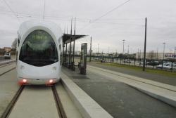 [Transport en commun lyonnais : station terminus Porte-des-Alpes à Saint-Priest]