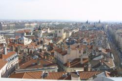 [Vue panoramique sur Lyon depuis le sommet de l'Opéra]