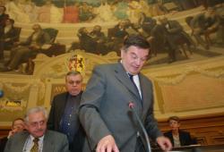 [Renouvellement de la présidence du conseil général du Rhône]