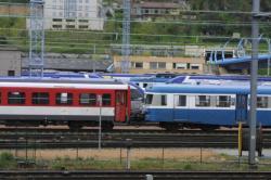 [Trains au dépôt de Lyon-Vaise]