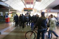 [Grève de la SNCF à la gare de la Part-Dieu]