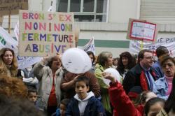 [Manifestation des écoles de Bron et de Lyon]