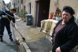 [Décrue du Rhône et de la Saône, mars 2001]