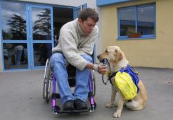 [Association Anecah : Chiens d'assistance pour handicapés, à Marcy-l'Etoile]