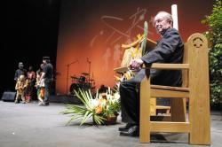[Rassemblement des jeunes du diocèse de Lyon à la Halle Tony Garnier]