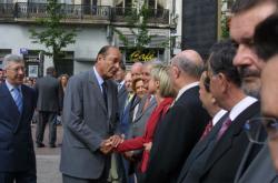 [Visite du président Jacques Chirac à Saint-Etienne]