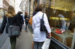 [Commerces de luxe dans la Presqu'île de Lyon]