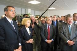 [Jean-Claude Gayssot, ministre des Transports, en visite à Lyon]