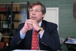 [Gilles Guyot, président du Pôle universitaire lyonnais (Pul)]