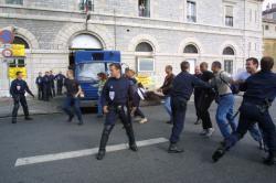 [Grève du personnel pénitentiaire dans les prisons de Lyon]