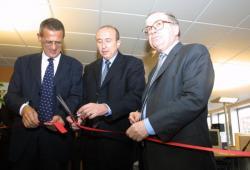 [Inauguration du centre d'appels d'Air France à la Part-Dieu]