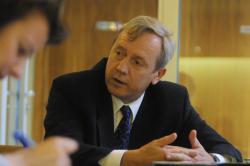 [Thierry Cornillet, vice-président du Conseil régional Rhône-Alpes]