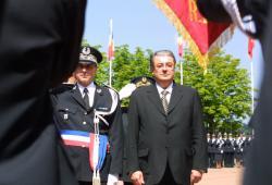 [Cérémonie de sortie de la 51e promotion de commissaires de police à Saint-Cyr-au-Mont-d'Or]