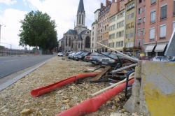 [Chantier du parking Saint-Georges, place Benoit-Crépu]