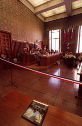 [Conseil général du Rhône : séance du 27 octobre 2000 délocalisée à l'hôtel de ville de Villeurbanne]
