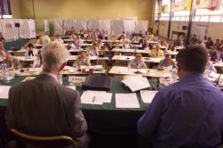 """[Conseil général du Rhône : séance """"hors les murs"""" du 23 juin 2000]"""