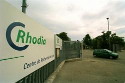 [Centre de recherche Rhodia à Saint-Fons : vue extérieure]