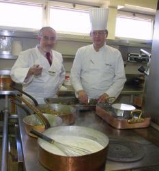 [Collaboration gastronomique : Alain Desvilles et Alain Senderens au Sofitel de Lyon]