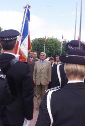 [Cérémonie de sortie de la 50e promotion de commissaires de police à Saint-Cyr-au-Mont-d'Or]