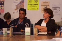 [Conférence de presse sur les gens du voyage à Marennes (Rhône)]