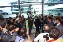 [Aéroport Lyon-Saint Exupéry : cérémonie pour le centenaire de la naissance d'Antoine de Saint-Exupéry]
