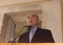 [Belley (Ain) : inauguration de la salle Pierre-Marcel Wiltzer]