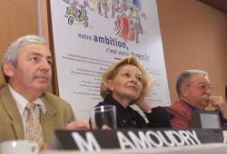 [Conférence de presse sur l'enseignement avec Anne-Marie Comparini]