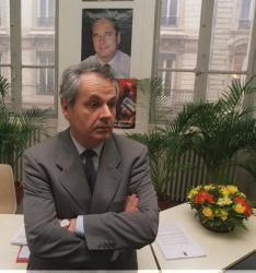 [Michel Forien, président départemental du R.P.R.]
