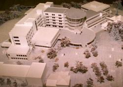 [Maquette du projet architectural du centre médico-chirurgical des Massues, à Champvert]