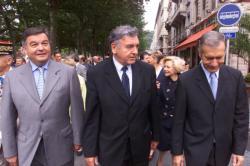 [56e anniversaire de la Libération de Lyon : cérémonie place Bellecour]