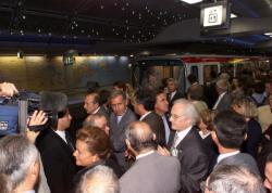 [Inauguration du prolongement de la ligne B du Métro lyonnais à Gerland]