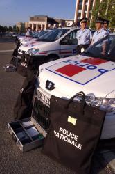 [La police de proximité dans la circonscription de Lyon]