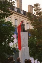 [Inauguration du monument à Saint-Exupéry]