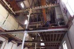 [Démolition de l'usine de pâtes alimentaires Rivoire et Carret, dans le quartier de l'Industrie, à Vaise]