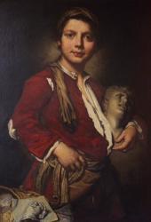 [Portrait d'un jeune sculpteur, de Vittore Ghislandi]
