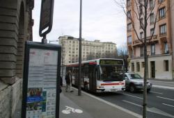 [Transports en commun lyonnais : la ligne 39, avenue Berthelot]