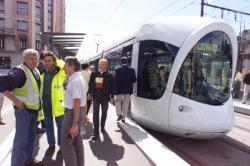 [Transports en commun lyonnais : test avant mise en service de la ligne T2 du tramway]