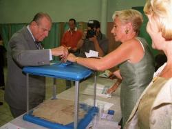 [Referendum pour le quinquennat : vote de Raymond Barre]