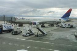 [Aéroport international de Lyon-Saint-Exupéry : le dernier vol Lyon-New York de la Delta Airlines]