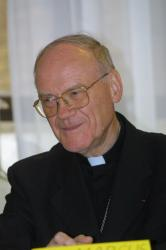 [Séminaire Saint-Irénée : pèlerinage des séminaristes, 2001]
