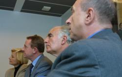 [Aéroport Saint-Eupéry : rencontre des élus rhônalpins avec Pierre Zémor]