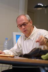 [Eric Botton, PDG-fondateur de l'enseigne des chaussures Bexley]