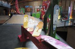 "[Skatepark de Lyon-Gerland : exposition ""Welcome on board""]"