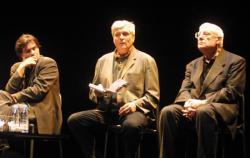 Roger Planchon et Christian Schiaretti - CP