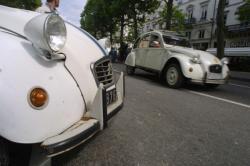 [Rassemblement des conducteurs de Citroën 2CV]