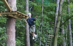 [City Aventure, parc acrobatique forestier à Sainte-Foy-lès-Lyon]